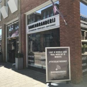 Banenbranderij Woerden flexplek webdesign uitzendbureau koffiebar