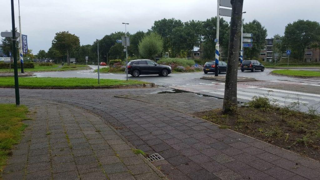 Rotonde Hollandbaan Woerden