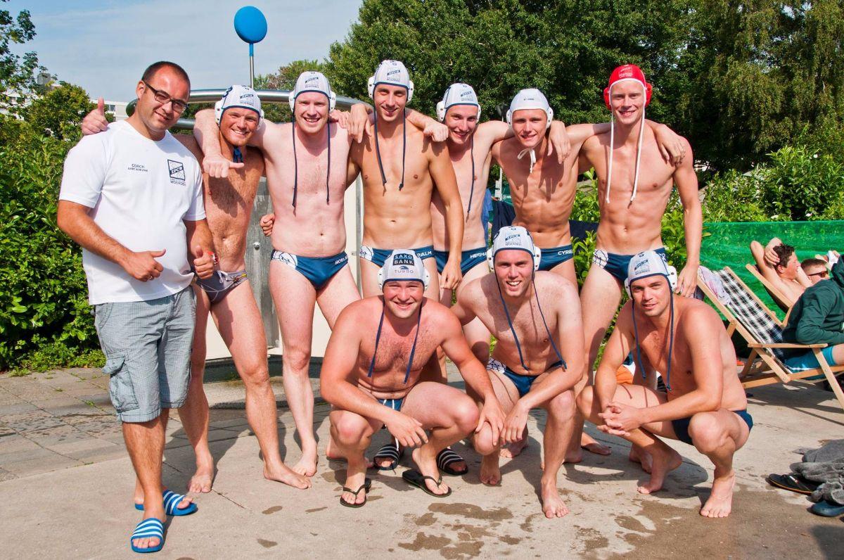 Heren waterpolo singelpolo ZPC Woerden