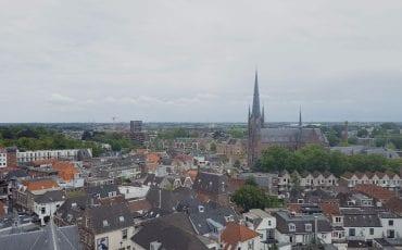 Woerden van boven Petruskerk
