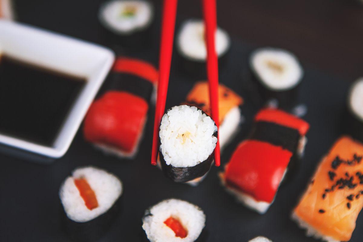 Sushi eten in Woerden