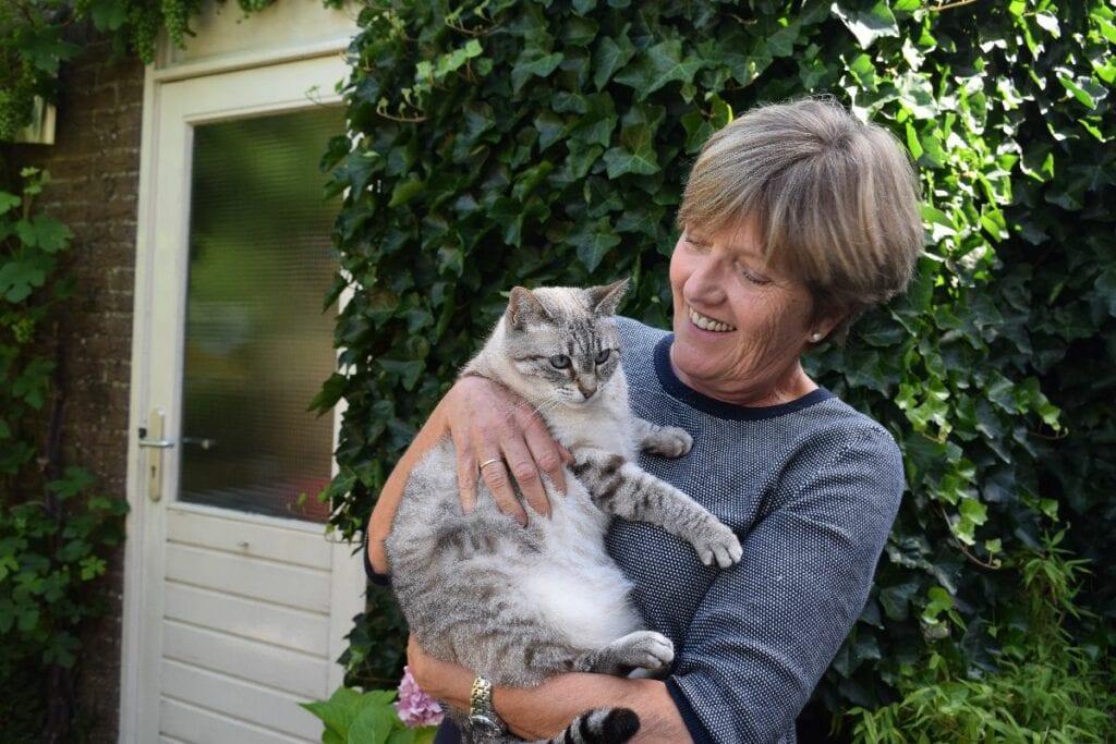 Kattenoppas Woerden Gerda Schutter