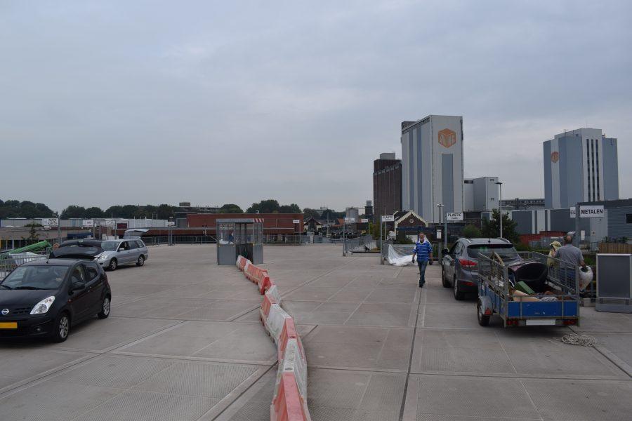 Milieustraat Woerden stadserf