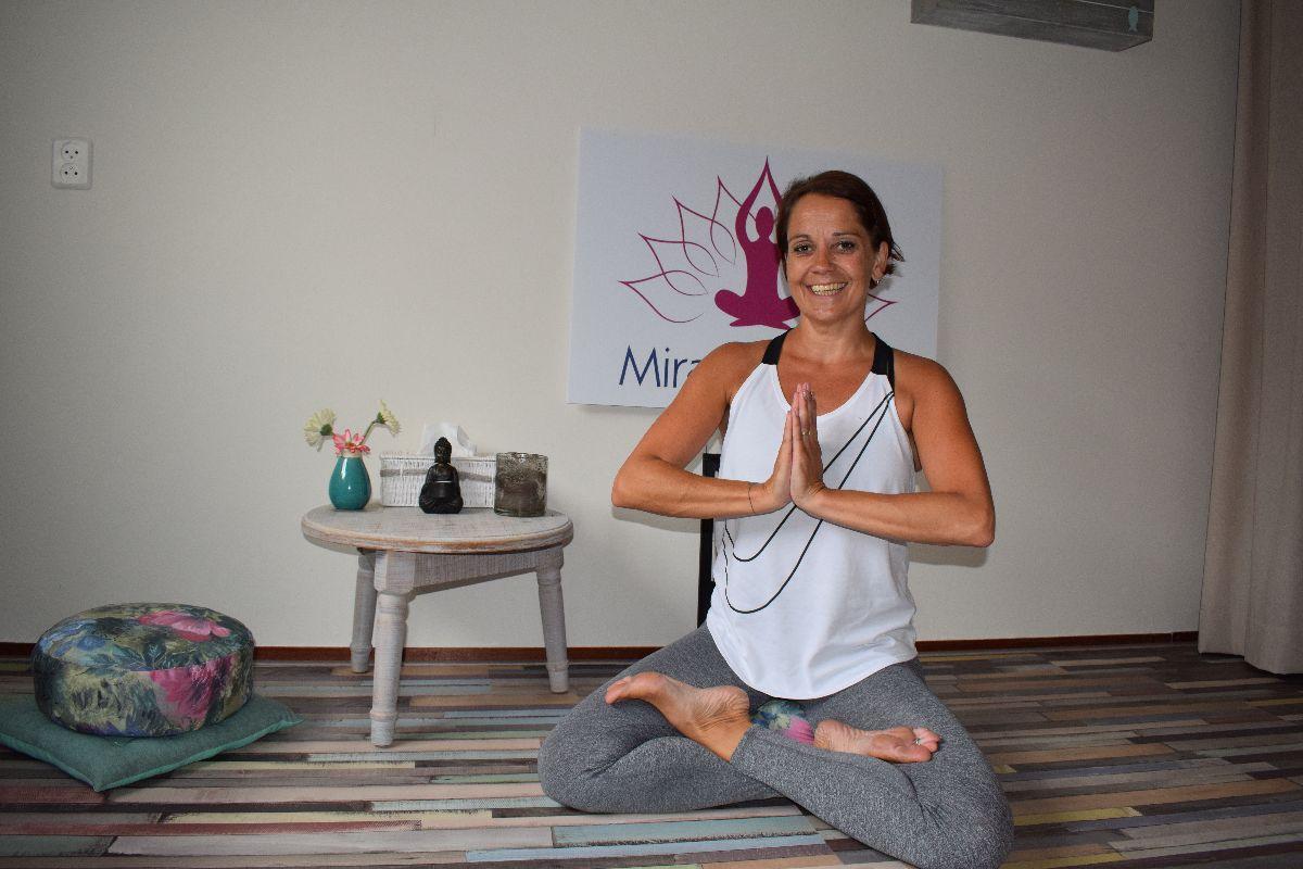 Nathalie van Miracle Yoga Woerden