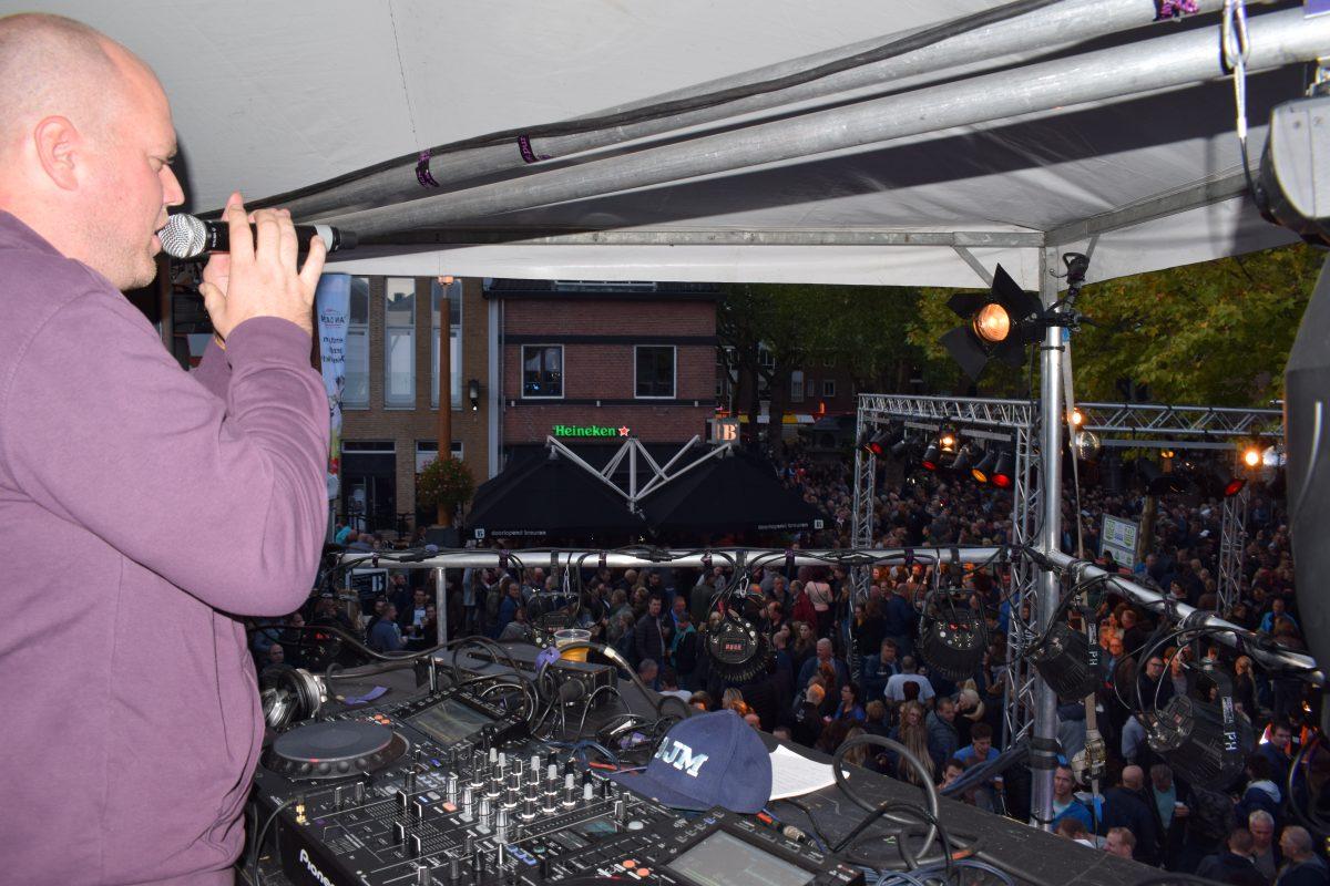 Koeiemart Party-dj Marco van de Geer