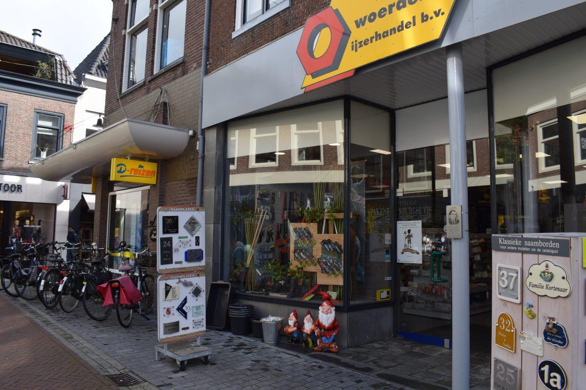 kabouter Kruisstraat tuinkabouter IJzerhandel Woerden