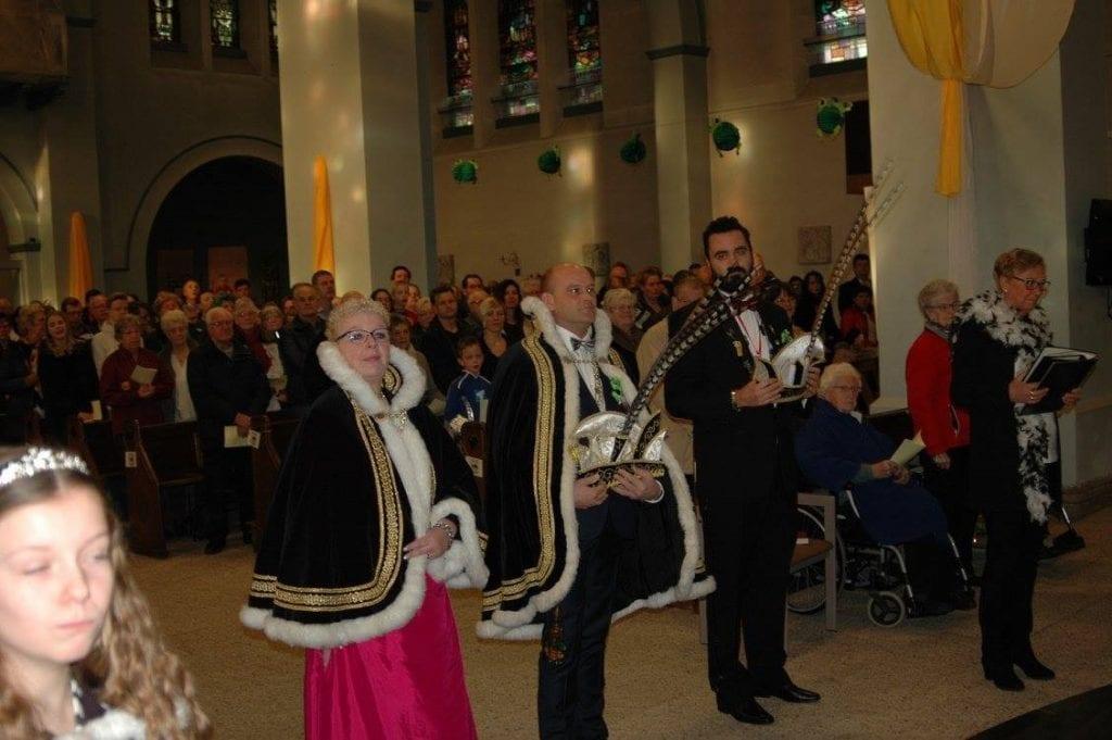 Carnavalsmis in Bavokerk Harmelen