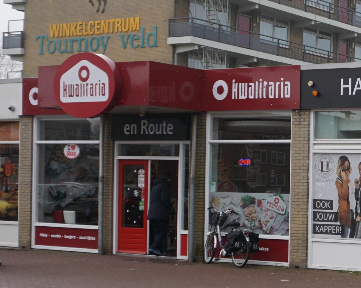 Kwalitaria en Route Tournoysveld Woerden