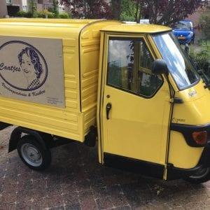 Gele tuktuk Caatjes