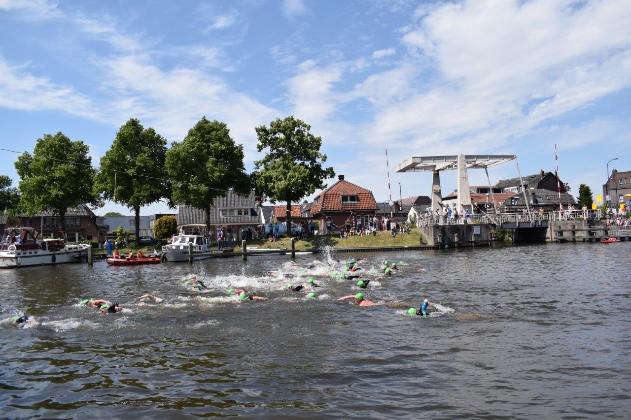 Triathlon Woerden Singel Haven 2018