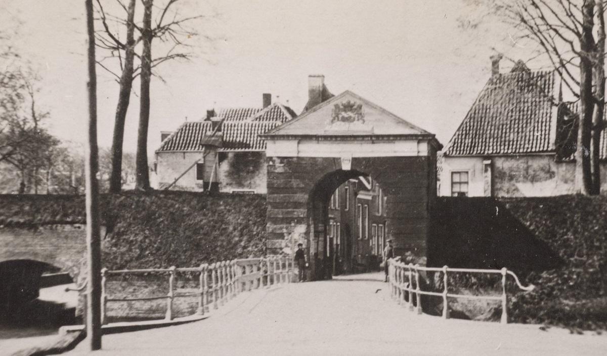 Utrechtsepoort Hofpoort stadspoort