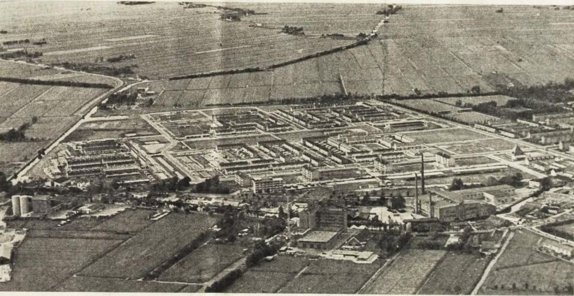 Luchtfoto Schilderskwartier Woerden