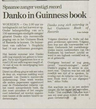 Record liedjes zingen Danko t stoplicht Eenhoorn