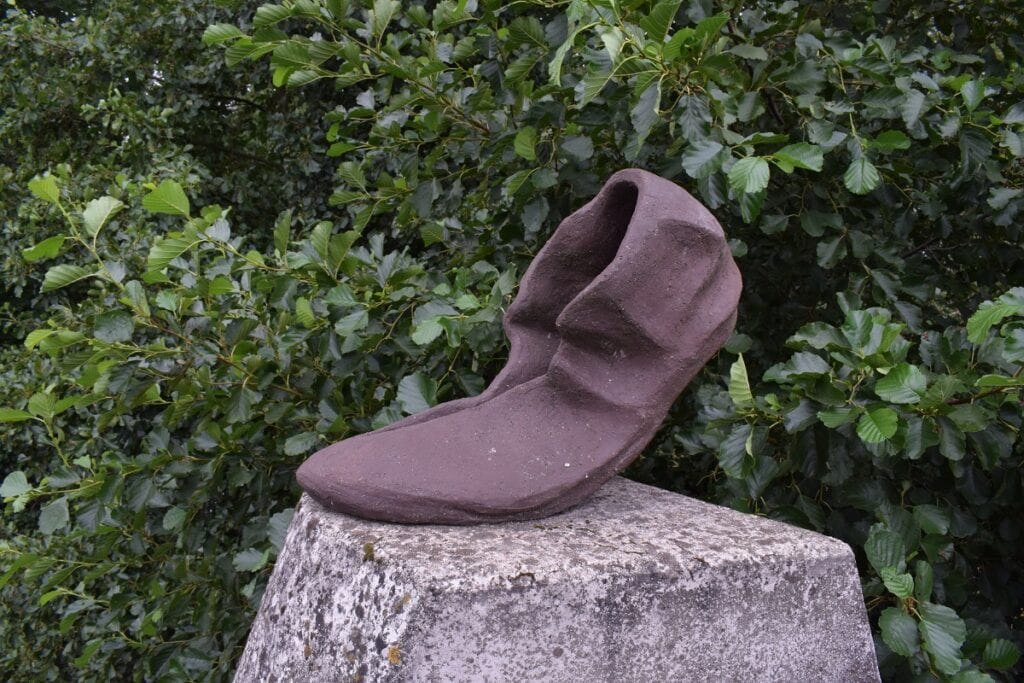 Romeinse schoenen LImesbrug Woerden Harmelen