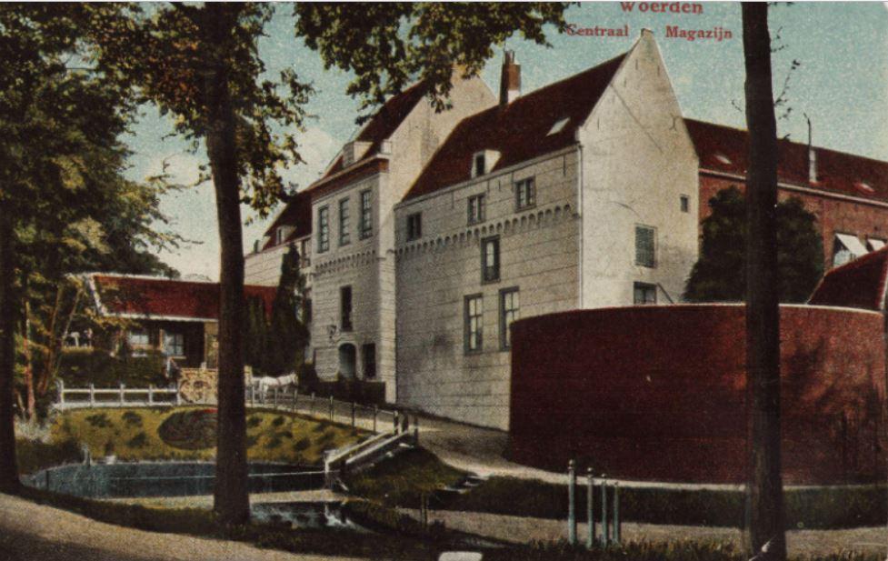 Kasteel Woerden 1905