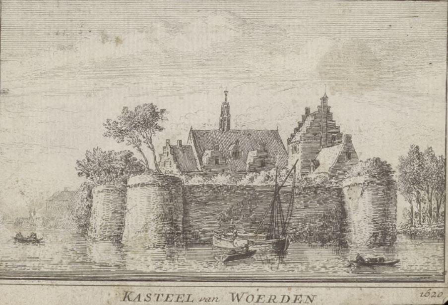 Kasteel Woerden 1620