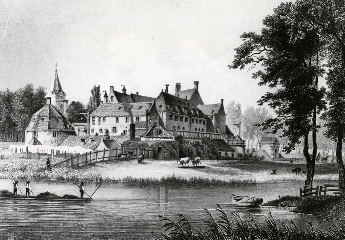 Kasteel Woerden 1860