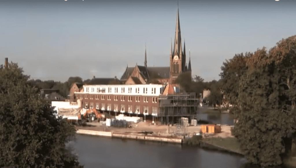 timelapse bouw defensie-eiland 2014 Vorm Blauwhoed