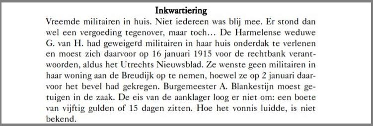 Bert van Elk Woerden Fragment uit Woerden en de Wereldbrand 1914-1918