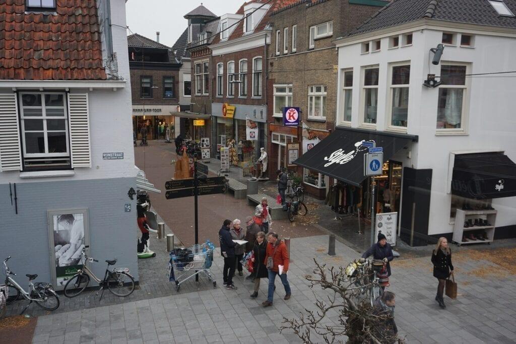 Kerkstraat Rijnstraat sfeerbeeld winkelen winkelstraat