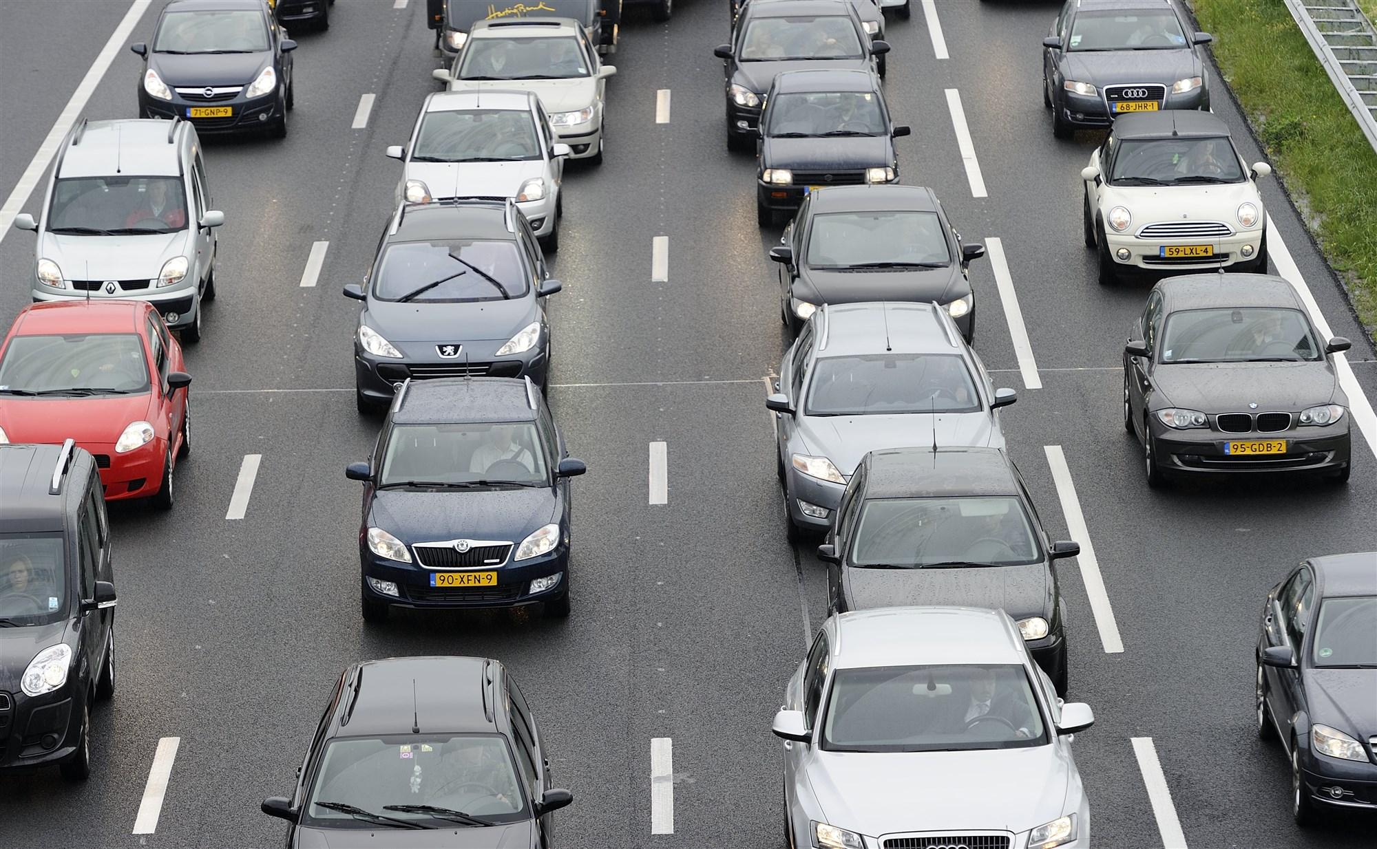 ANP files snelweg a12 woerden
