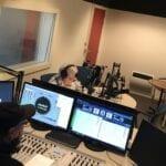 Jans Baan in de RPL studio