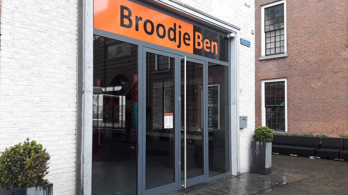Broodje Ben open Kerkplein Woerden