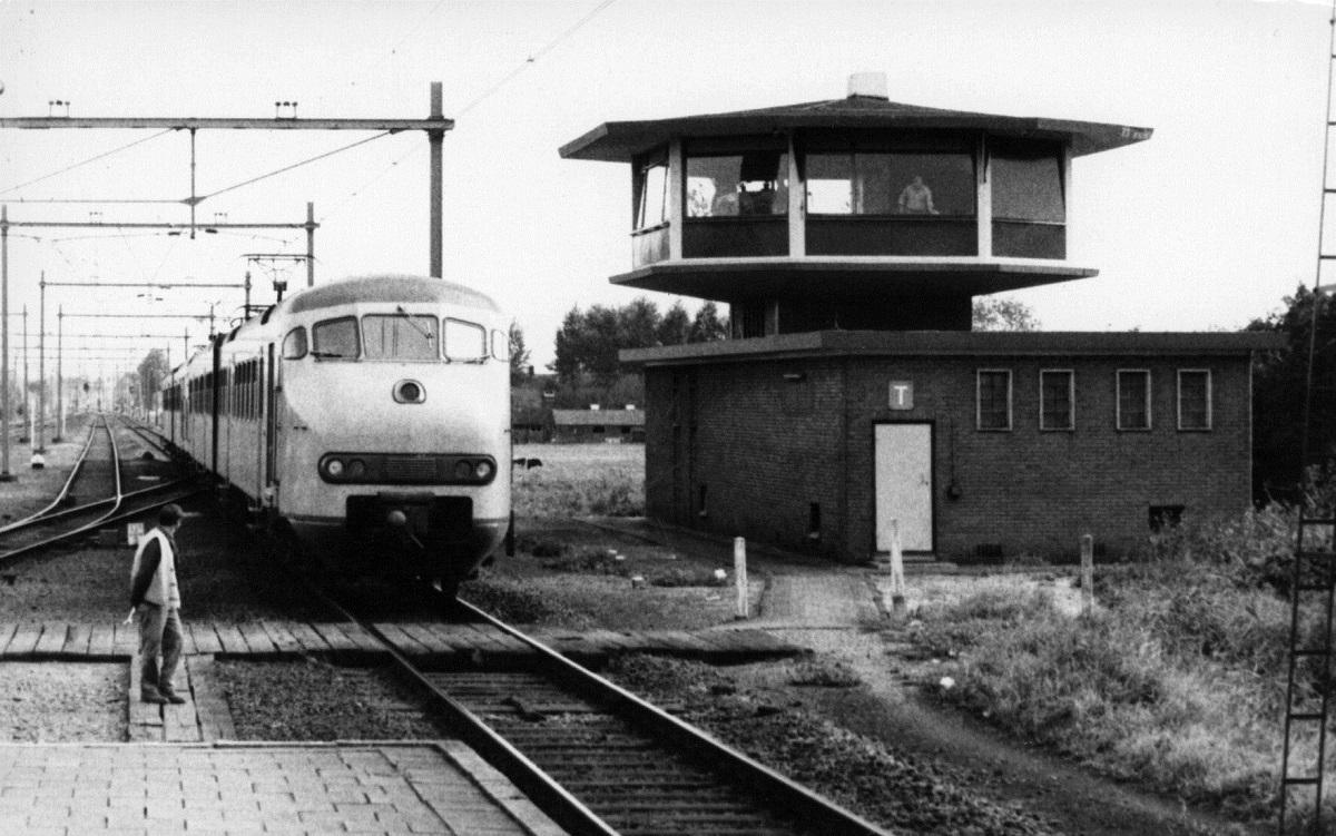 Oude foto station Woerden