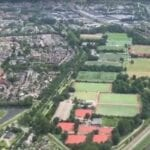 Helikopter over Woerden
