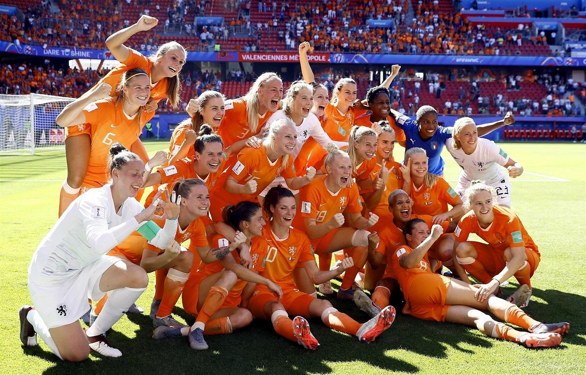 Voetbal vrouwen wk 2019