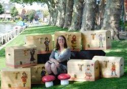 Anita's Kinder-themakisten kinderfeestje