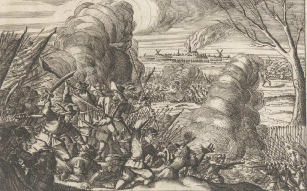 Slag bij de Kruipin Woerden 1672