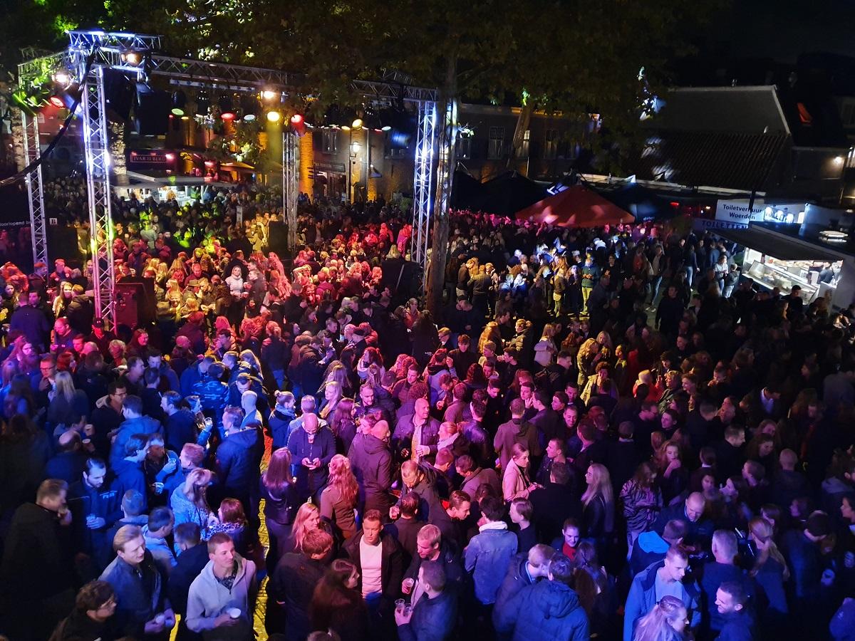 Nacht van Woerden 2019 Kerkplein