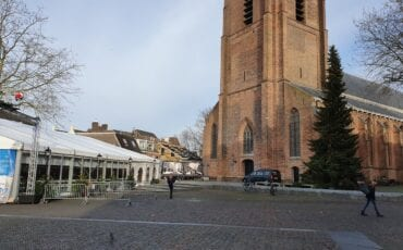 Kerstboom Kerkplein 2019 Woerden