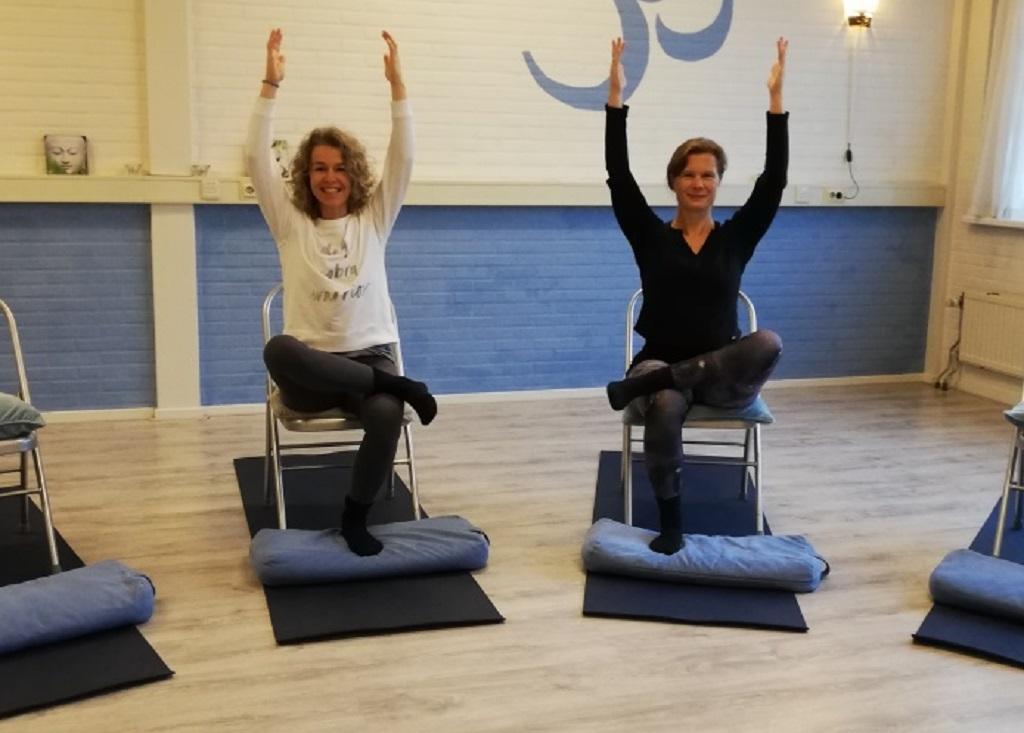 Stoelyoga yoga cadeaubon