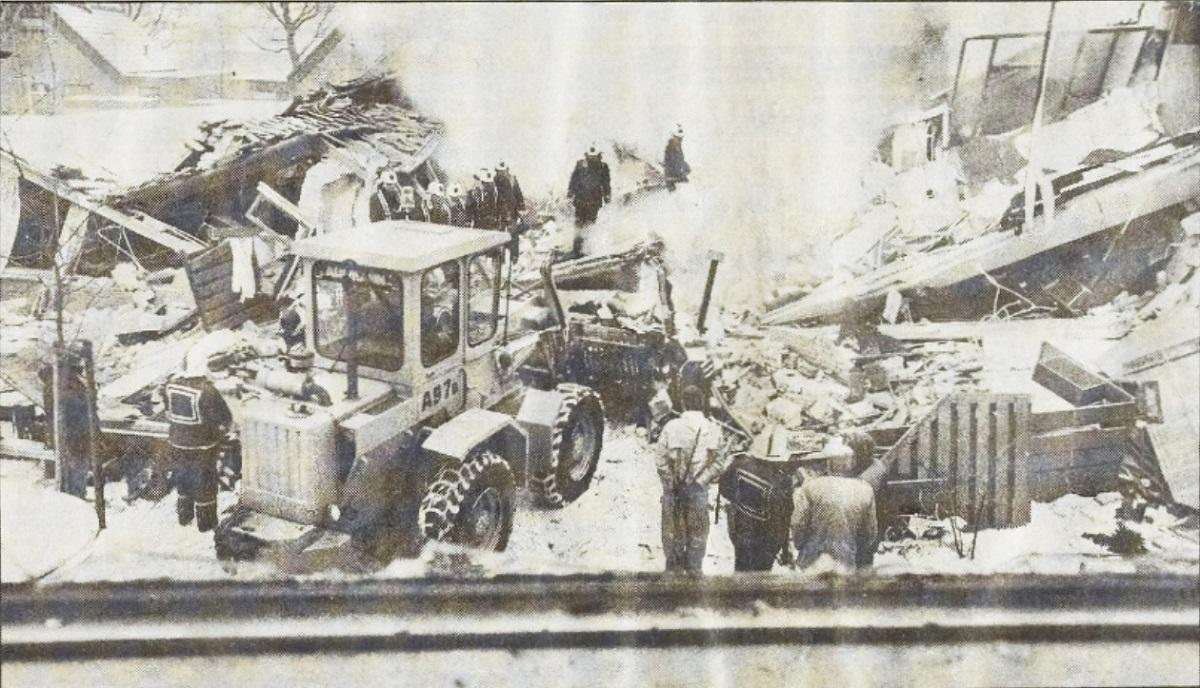 Gasexplosie Woerden 1985