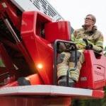 Brandweervrouw Woerden