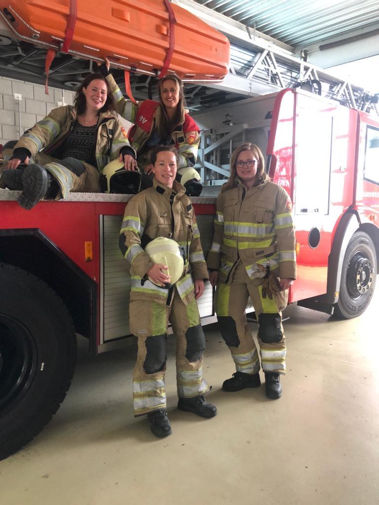 brandweervrouwen