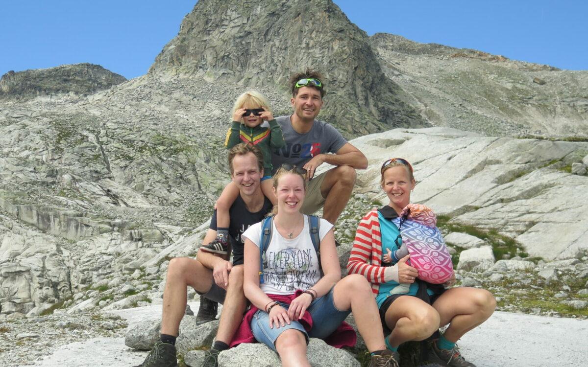 Waanzinnige wandeling gemaakt met zus Jolanda en haar gezin