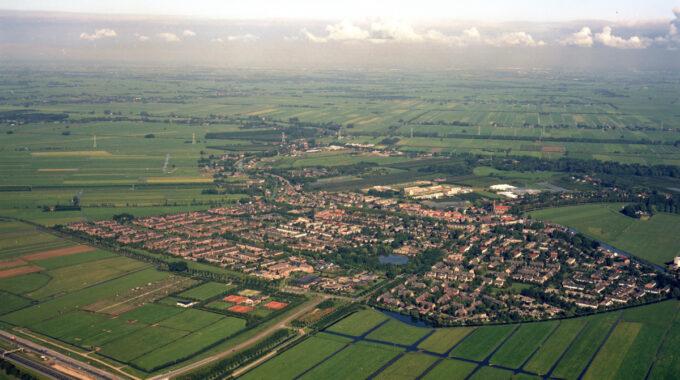 luchtfoto Harmelen