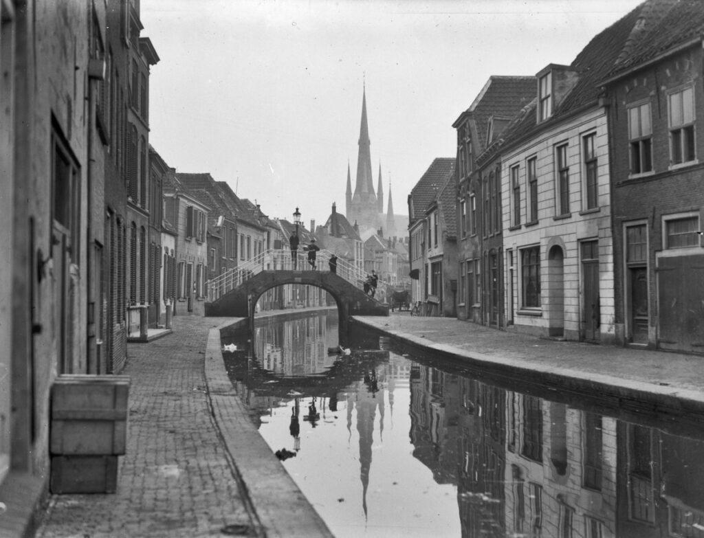 Oude Rijn jaren dertig Woerden