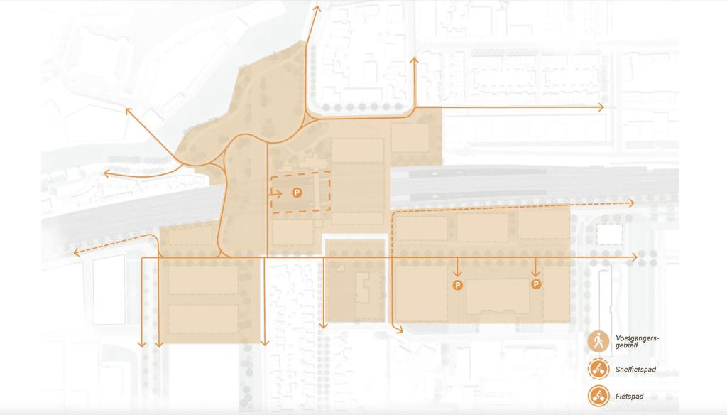 Visie stationsgebied fietsen