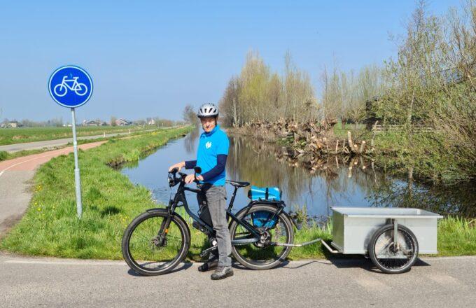 Rob fietstocht noordkaap