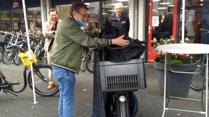 John nieuwe fiets