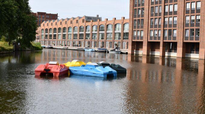 waterfietsen woerden