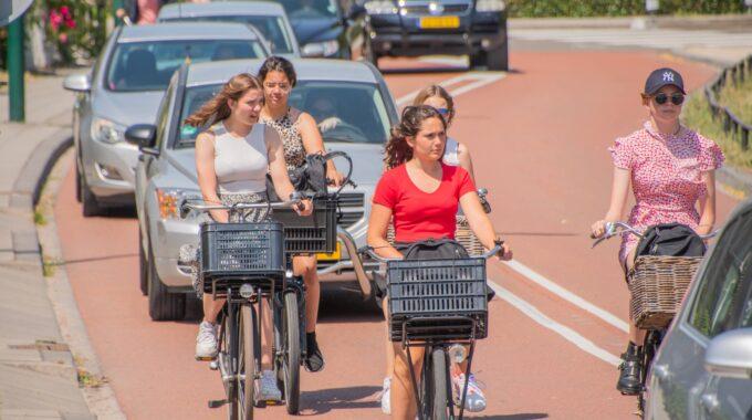 fietspad fietsers