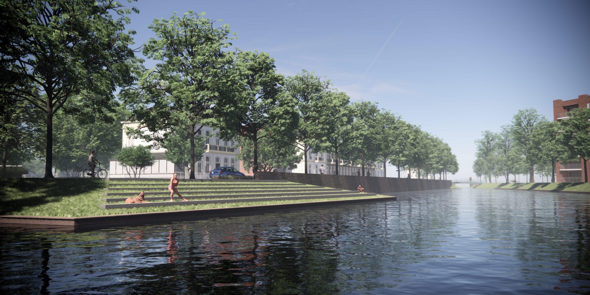 Zo ziet de Oostdam er straks uit: 'De stemming is nu een stuk beter dan eerst' (foto's) - indebuurt