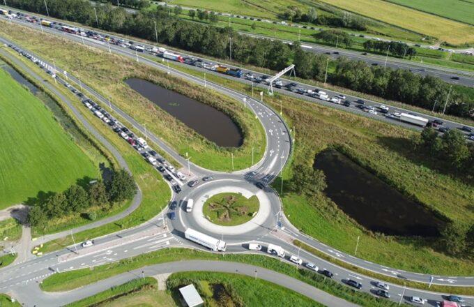 a12 Woerden Nieuwebrug