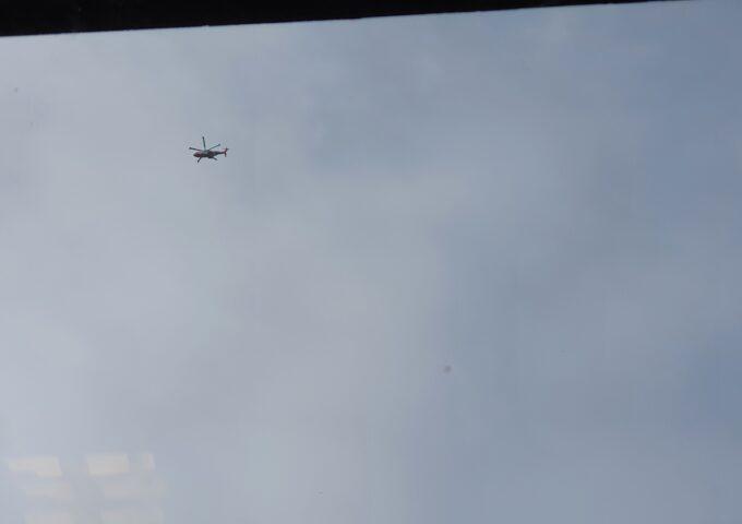 helikopter wit oranje