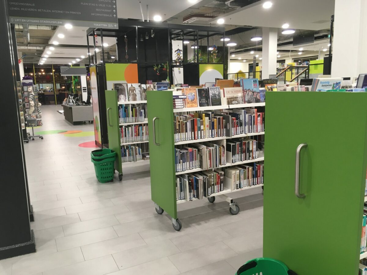 Bibliotheek in het Stadhuis-Forum